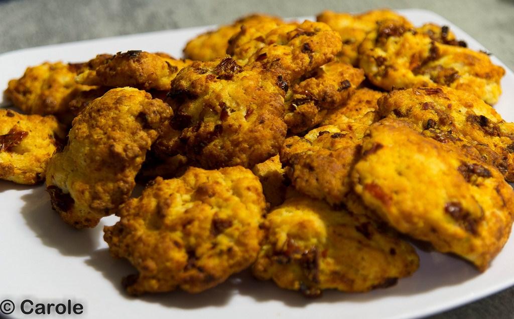 cookies tomates séchéess
