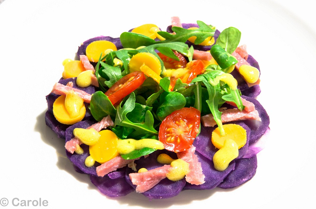 vitelotte salade