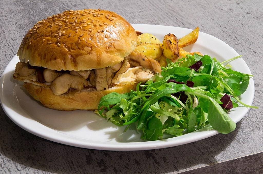 burger façon japonaise