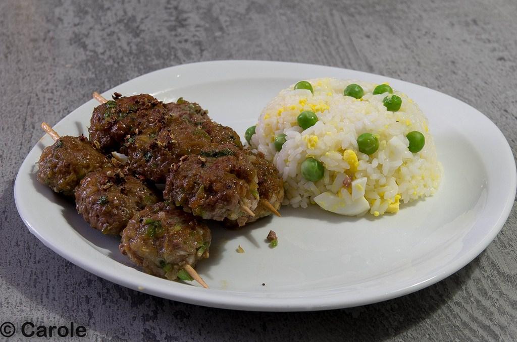boulettes viande hachée